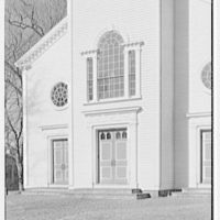 Greenfield Hill Church, Fairfield, Connecticut. Exterior, detail