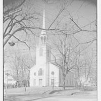 Greenfield Hill Church, Fairfield, Connecticut. Exterior, from southeast