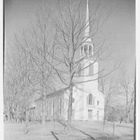 Greenfield Hill Church, Fairfield, Connecticut. Exterior, from southwest II