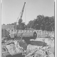 Griffith Consumers Co. Installing 25,000 gallon tanks at 16th and Spring Rd. III