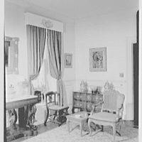 H. Wilmer Hoffman, residence at 35 Church St., Charleston, South Carolina. Living room II
