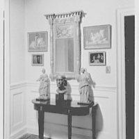 H. Wilmer Hoffman, residence at 35 Church St., Charleston, South Carolina. Lower hall