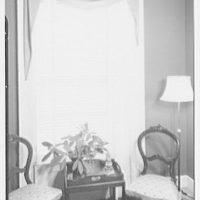 Hilda Kassell, E. 53rd St., New York City. Venetian blind at Emma Cole's residence