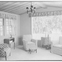 Hilda Kassell, residence in Croton, New York. Living room window II