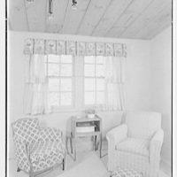 Hilda Kassell, residence in Croton, New York. Living room window IV