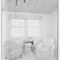 Hilda Kassell, residence in Croton, New York. Living room window V