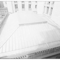 International Nickel Co. at Customs House in Baltimore. View above roof of Customs House I