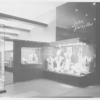John Forsythe, business at 348 Madison Ave., New York City. Exterior, view from right