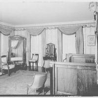 Jumel Mansion, Jumel Terrace, Washington Heights, New York. Madame Jumel's bedroom