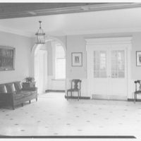 Lafayette College, Jessie Kirby Dormitory, Easton, Pennsylvania. Entrance lobby II