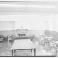 Lafayette College, Jessie Kirby Dormitory, Easton, Pennsylvania. Rumpus room