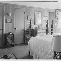 Mr. and Mrs. Lawrence W. Miller, residence in Nantucket, Massachusetts. Bedroom II