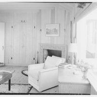 Mr. Jules Thebaud, residence in Nantucket, Massachusetts. Guest room