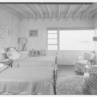 Mr. Jules Thebaud, residence in Nantucket, Massachusetts. View of master bedroom