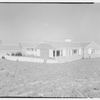 Mr. Jules Thebaud, residence in Nantucket, Massachusetts. View to south and east facade
