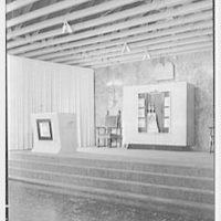 Roslyn Jewish Community Center, Roslyn Rd., Roslyn, Long Island, New York. Chancel