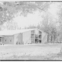 Roslyn Jewish Community Center, Roslyn Rd., Roslyn, Long Island, New York. Exterior II