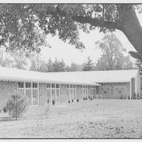Roslyn Jewish Community Center, Roslyn Rd., Roslyn, Long Island, New York. Exterior III
