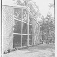 Roslyn Jewish Community Center, Roslyn Rd., Roslyn, Long Island, New York. Exterior IV