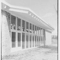 Roslyn Jewish Community Center, Roslyn Rd., Roslyn, Long Island, New York. Exterior VI