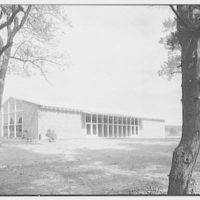 Roslyn Jewish Community Center, Roslyn Rd., Roslyn, Long Island, New York. Exterior I