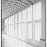 Roslyn Jewish Community Center, Roslyn Rd., Roslyn, Long Island, New York. Window