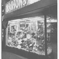 Barton's Bonbonniere, business on Kings Highway, Brooklyn. Exterior