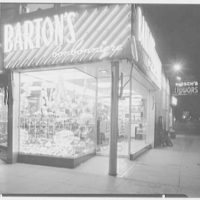 Barton's, business at 130 DeLancey St., New York City. Exterior