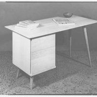 Berge-Norman Associates, business at 45 E. 28th St., New York City. Desk