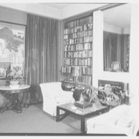 Bertram Wolfe, residence at 138 E. 62nd St., New York City. Library