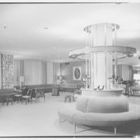 Bonwit Teller, business in Cleveland, Ohio. Show department towards main display