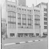 Bonwitt Teller, business in Cleveland, Ohio. Exterior
