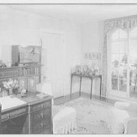 Childs Frick, residence in Roslyn, Long Island, New York. Morning room