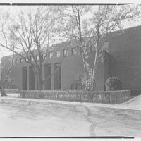 Congregation Sons of Israel, Woodmere, Long Island, New York. Exterior
