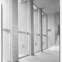 Congregation Sons of Israel, Woodmere, Long Island, New York. Foyer columns
