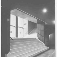 Congregation Sons of Israel, Woodmere, Long Island, New York. Steps up, basement