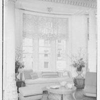 Elizabeth Draper, business at 867 Madison Ave., New York City. Bay window