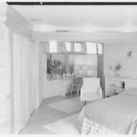 Frederick Greenberg, residence on Sawmill Hill Rd., Ridgefield, Connecticut. Bedroom II