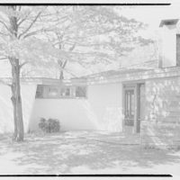 Frederick Greenberg, residence on Sawmill Hill Rd., Ridgefield, Connecticut. Exterior IV