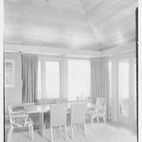 Frederick Greenberg, residence on Sawmill Hill Rd., Ridgefield, Connecticut. Living room II