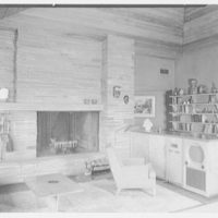 Frederick Greenberg, residence on Sawmill Hill Rd., Ridgefield, Connecticut. Living room I