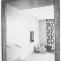 Johnson & Johnson, Research Center, New Brunswick, New Jersey. Hall, to reception room