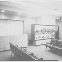 London Character Shoes, business at 42nd St. and Madison Ave., New York City. Interior II