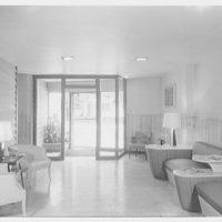 Medical Arts Center, Bay Shore, Long Island. Entrance foyer