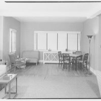 Mr. Meade, residence in Atlantic Beach, Long Island, New York. View to front window