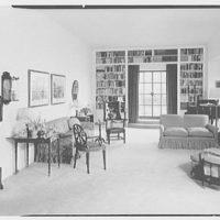 Mrs. Julian Bach, residence at 33 E. 70th St., New York City. Living room I