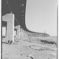 New Jersey Turnpike. Elevated structure over meadows II