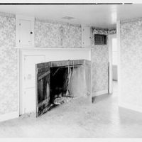 Paul Vautrin, residence in Redding, Connecticut. Interior I, living room