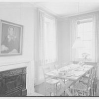Printex Corp., 34 State St., Ossining, New York. Dining room, to window