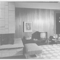Prisant Properties, Pilot House, King's Point Rd. and Tredway Rd., Great Neck, Long Island. Television room